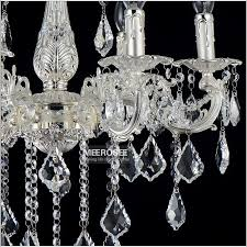 impressive silver chandelier light 15 lights silver color crystal chandelier lamp big crystal re