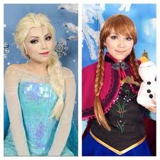 explore makeup disney and more look like elsa disney 39 s frozen makeup tutorial using motives disney s frozen princess anna makeup