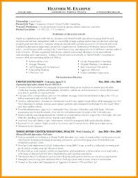 Federal Resumes Examples Magnificent Federal Resumes Samples Free Professional Resume Templates