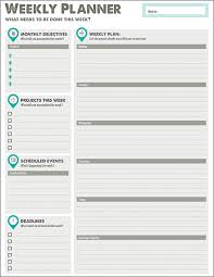 Printable Planner Designs From Xerox