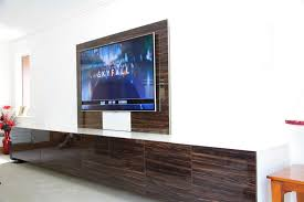 cinema room furniture. Wall Mounted TV With Floating Media Storage Cinema Room Furniture