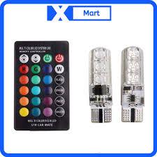 Bóng đèn Demi 16 LED có remote chuyển màu đèn - Đèn sạc Hãng No brand