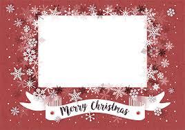 Christmas Snowflakes Pictures Merry Christmas Snowflakes Photo Card