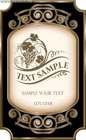 Label Design Free Wine Bottle Label Template Free Download Google Search Liqueurs