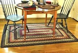 primitive area rugs country kitchen style decor