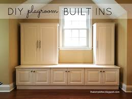 Diy Built In Storage Thats My Letter Diy Playroom Built Ins From Ikea Cabinets