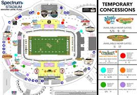 Spectrum Stadium Seating Chart Ucf