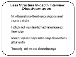 advantages and disadvantages of different types of interview structure c documents and settings quayuma desktop carol images interview
