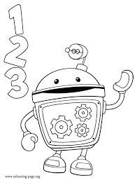 Team Umizoomi Coloring Page Pages Medium Size Of Creativeinfotechinfo
