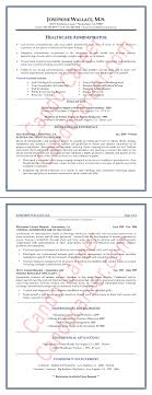 Healthcare Administration Sample Resume 17 Healthcare