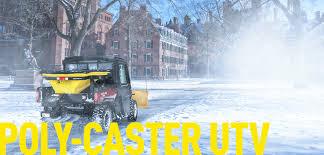 fisher® poly caster™ utv hopper spreader fisher engineering poly caster™ utv hero image