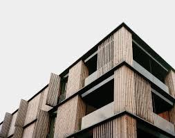 EA  Escherpark Apartment Buildings Zürich Simplicity - Modern apartment building facade