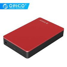 <b>ORICO 3.5 inch</b> Type C HDD Case Aluminum SATA to USB C ...