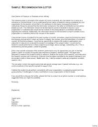 Recommendation Letter For Grad School Letter Of Recommendation For School Principal Job Graduate