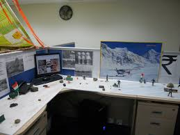 halloween office decor. The Unique Office Cubicle Decoration In Every Moment: Snow Mountain Decor For Cubicle. « Halloween I