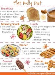 Diet Chart For Obese Person 4 Steps To Tighten A Flabby Stomach And Look Fit In 2019