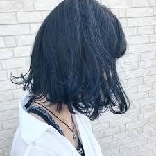 青系のブルーアッシュヘアカラー17選ブリーチなしのブルー系の髪色も