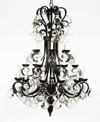 large foyer chandeliers large foyer entryway wrought iron chandelier 50 inches