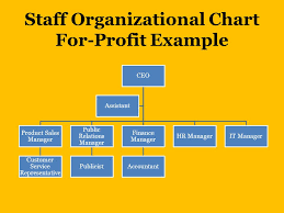 Staffing Plan Staff Organizational Charts Job Descriptions
