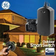 ge wave wireless. GE Z Wave Wireless Smart Lighting Control Outdoor Module, On/Off Ge Wave Wireless