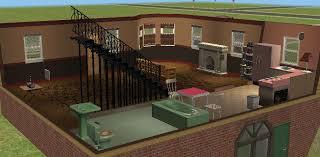 walkout basement fireplace furnished