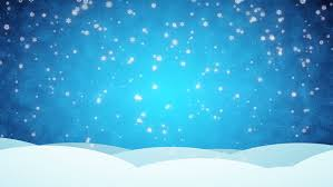 Snow Animated Snowy Blue Animated Background Merry Stock Footage Video 100