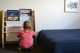 ... Montessori Inspired Bedroom. Otis At Bookshelf