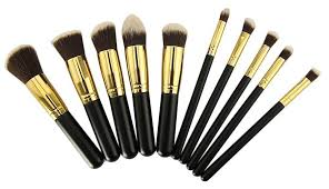 premium synthetic kabuki makeup brush set
