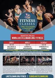Fitness — Lake Telemark Community Club