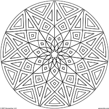 Small Picture islamic geometry pdfs images of printable hard geometric coloring