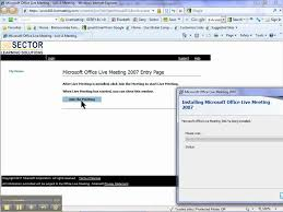 Microsoft Office Meeting How To Connect Install And Join A Microsoft Live Meeting