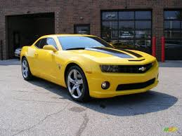 2010 Rally Yellow Chevrolet Camaro SS Coupe Transformers Special ...