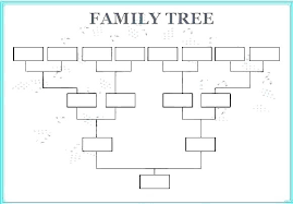 Genealogy Chart Template Free Pedigree Chart Template Excel Sample Family Blank