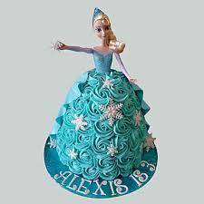 Blue Roses Barbie Cake Vanilla 2kg Gift Tinkerbell Fairy Barbie
