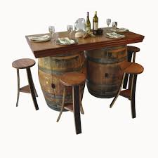 Wine Barrel Kitchen Table Napa East Collection Wine Barrel 5 Piece Dining Set Reviews