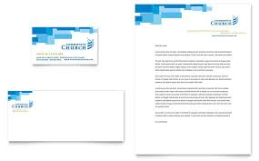 Start with creating sufficient church letterhead to make the majority of the space within your organization characters and marketing mails. Community Church Business Card Letterhead Template Design