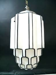 art deco light fixtures dramatic antique skyser milk glass chandelier ceiling