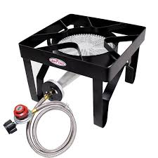 this gas one propane gas cooker comes with an adjule 0 20psi regulator with steel braided hose and is just the ticket for brewers wanting to get the