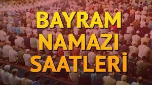 Bayram namazı saati 2021: İstanbul'da bayram namazı saat kaçta? Kurban  Bayramı namaz saatleri Diyanet tarafından paylaşıldı - Son Dakika Haberler