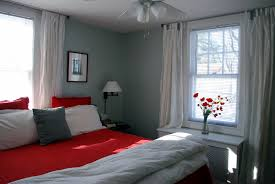 Master Bedroom Curtains In The Little Yellow House Master Bedroom Curtains Lamps Updates