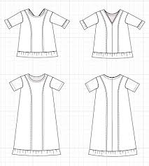 Free Sewing Patterns Online Amazing Carrera Technical Drawing On The Cutting Floor Printable Pdf