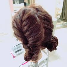 意外と簡単イベントにピッタリなツインお団子のやり方hair