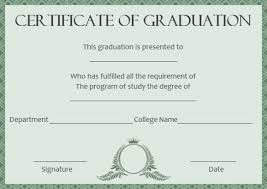 Certificates Exciting Certificate Of Degree Templates