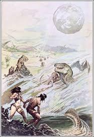 land of terror by edgar rice burroughs frank frazetta cover art