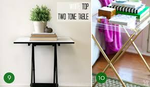 Decorative Tv Tray Tables 100 Clever Ways To Make Over Your TV Tray Tables Curbly 98