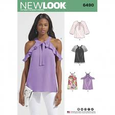 New Look Patterns Unique New Look Pattern 48 Women's Blouses With Sleeve Variations Patterns