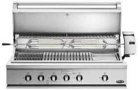 dcs bh148rgil 48 traditional grill with rotisserie griddle and hybrid infrared burner