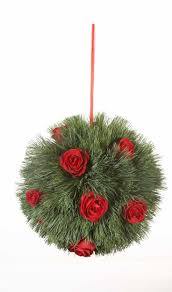 37 best christmas kissing balls images on Pinterest | Kissing ball ...