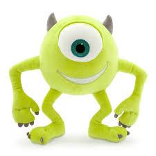 Amazon.com: Disney / Pixar Monsters Inc Mike Wazowski Exclusive 10.5