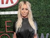 The 33-year old daughter of father (?) and mother(?), 163 cm tall Aubrey O'Day in 2017 photo